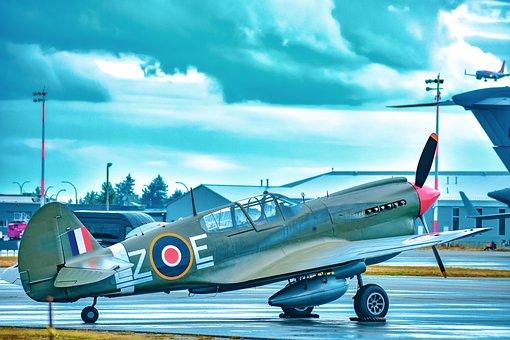 Fighter Plane, Propeller, Ww2, Airplane, Plane