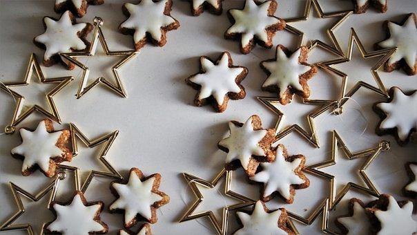 Dec, Merry Xmas, Stars, Gingerbread, Sweet, Biel