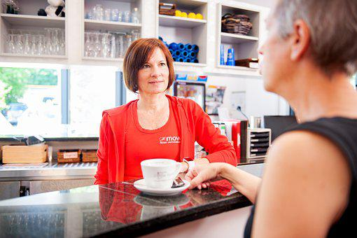 Service, Coffee, Counter, Bistro