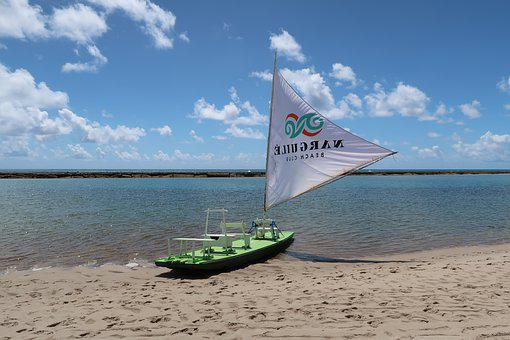 Boats, Sailboat, Candle, Mar, Raft, Pernambuco