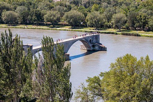 Provence, Rhône, Avignon, Bridge, South Of France