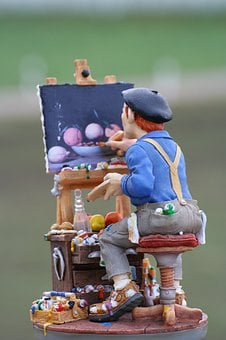 Artists, Painter, Image, Brush, Art, Painting, Color
