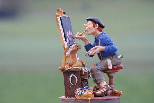 Painter, Image, Painting, Paint, Canvas, Brush, Color