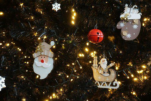 Christmas, Tree, Trim, Santa Claus, Rattlesnake, Glove