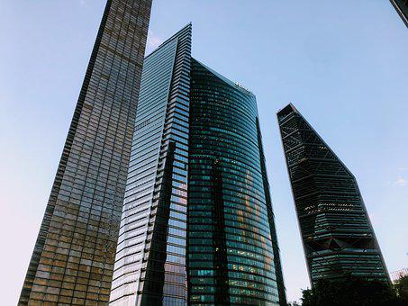 Buildings, Skyscrapers, Finance, Business, City, Mexico