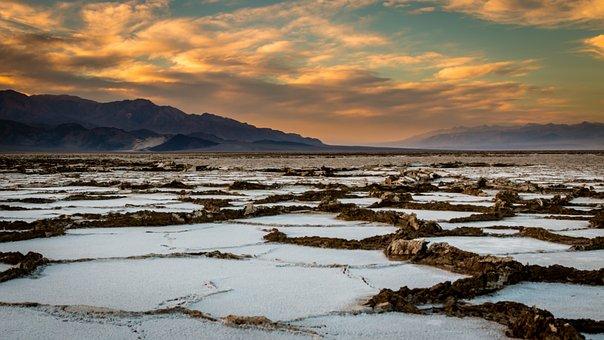 Death Valley, Desert, Nature, Dry, California
