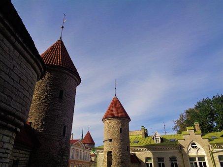 Tallinn, Estonia, Architecture, City, Historical