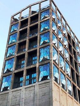 Facade, Hotel, Window, Hotel Silo, Cape Town