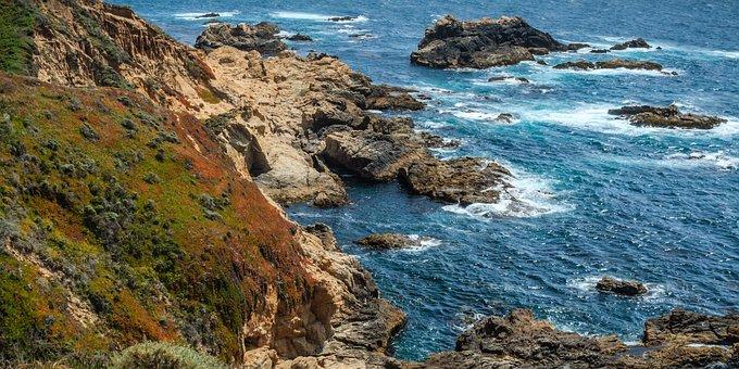 Big Sur, Northern California, Pacific Ocean, Landscape