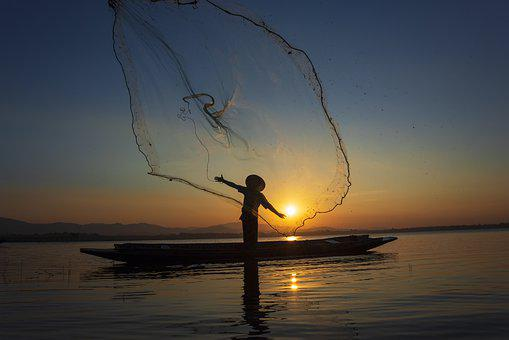 Throwing, Vietnamese, Beautiful, Vietnam, Laos, Sun