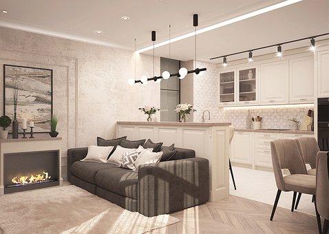 Lounge, Sofa, Apartment, Apartments, Studio Housing