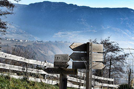 Meran, Italy, South Tyrol, Mountains, Landscape
