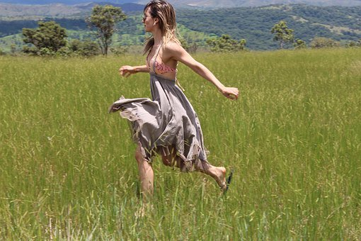 Freedom, Nature, Peace, Girl, Brazilian Woman