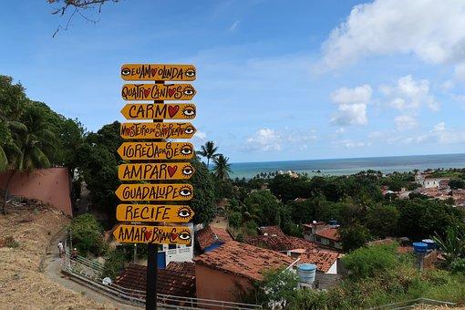 Olinda, Pernambuco, Plates, Tourism, Recife, Brazil