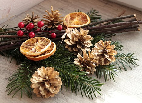 Decor, Table, Christmas, Restaurant, Celebration
