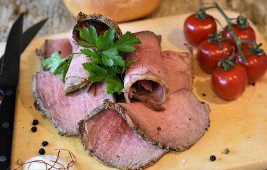 Roast Beef, Beef, Meat, Steak, Cook, Eat, Food
