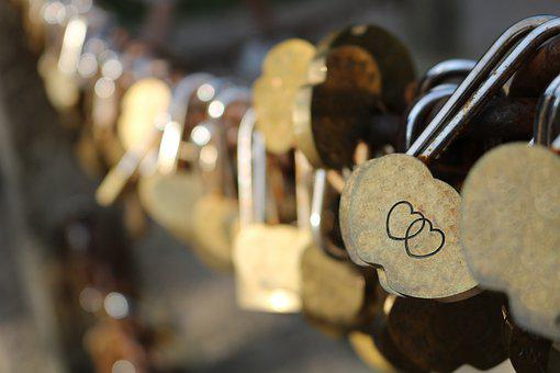 Love, Heart, Romance, Romantic, Lock, Locks, Key