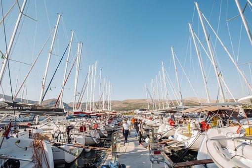 Marina, Croatia, Trogir, Sailing, Regatta
