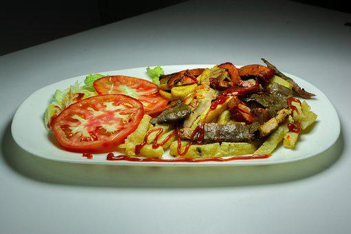 Arros, Chinese, Shrimp, Seafood, Lunch, Prawns, Kitchen