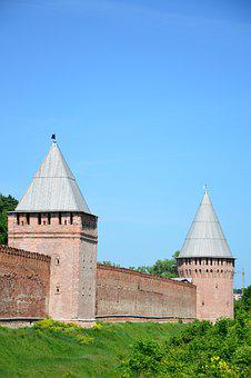 Fortification, Smolensk, Tower, Architecture