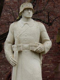 Memorial, Soldier, War, Memory, Sculpture, Remembrance