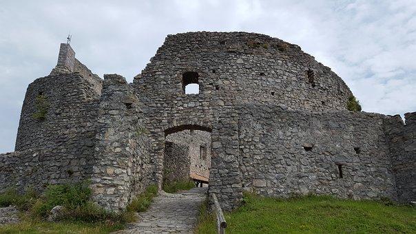 Castle, Wall, Architecture, Building, Stone
