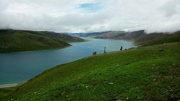 Natural, Landscape, Sky, Tibet