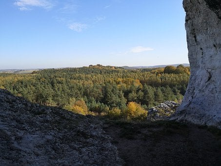 Jura, Rocks, Landscape, Ogrodzieniec, Tourism