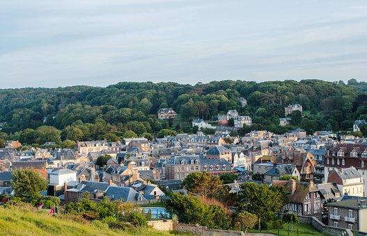 Etretat, France, Normandy, Vacations, Travel, Port