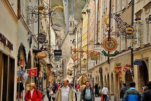 Salzburg, Vacations, Austria, Tourism, Travel, Europe