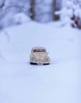 Car, Miniature, Toy, Transport, Volkswagen, Vehicle