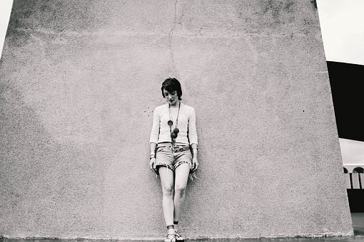 Person, Thinking, Relax, Thoughtful, Alone, Girl, Woman