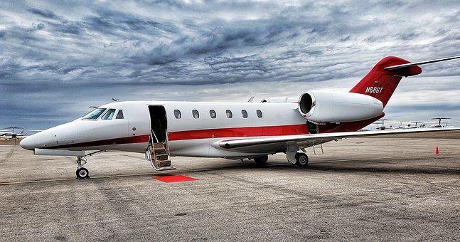 Airplane, Aviation, Private Jet