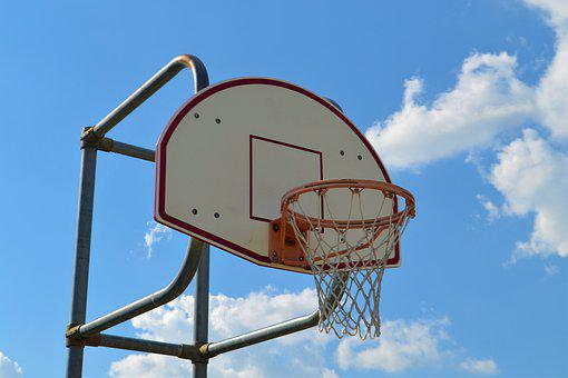 Basketball, Backboard, Basketball Rim, Hoop