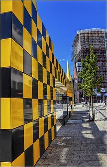 Hanover, Bus Stop, Places Of Interest, Yellow, Black