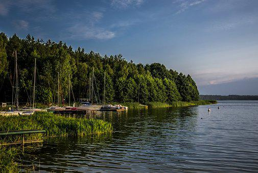 Lake, View, Landscape, Nature, Water, Calm, Outdoor