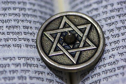Star Of David, Dreidel, Jewish, Chanukah, Tradition