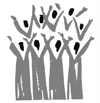 Choir, Gospel, People, Group