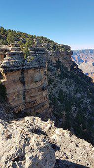 Canyon, Nature, Rocks, Cliff, Scenic, Arizona