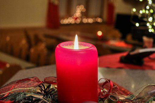 Candle, Advent, Christmas, Light, Decoration, Flame