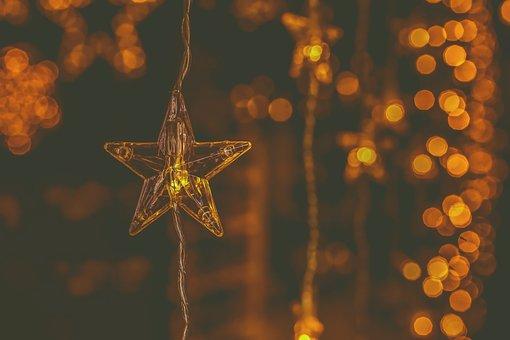 Christmas, Lighting, Star, Decoration, Christmas Time