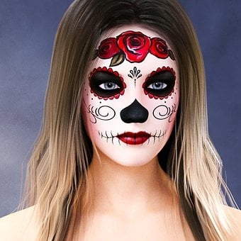 Day Of The Dead, Día De Muertos, Mexico, Skull