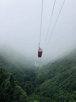 Cable Car, Mountain, Outdoor, Fresh Air, Nature