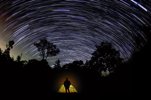 Adventure, Wanderlust, Camping, Sky, Night, Galaxy