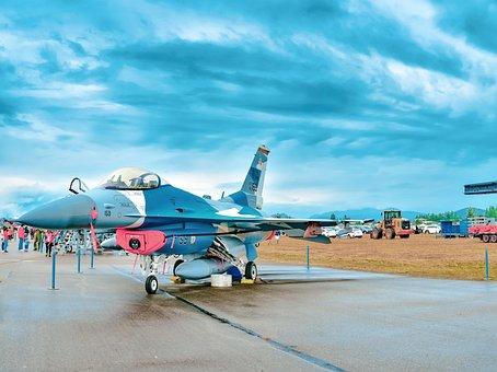F16, Jet Fighter, Aviation, Fighter, Airshow