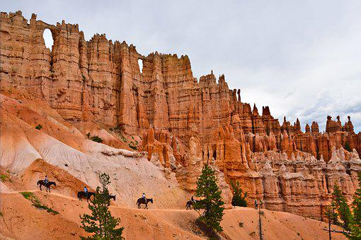 Bryce Canyon, National Park, Utah, Usa, Hiking