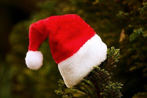 Santa Hat, Fabric, Christmas, Santa Claus, Nicholas