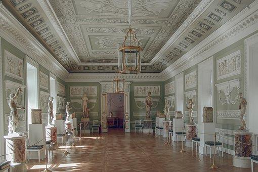 Museum, Palace, Historical, Pavlovsk