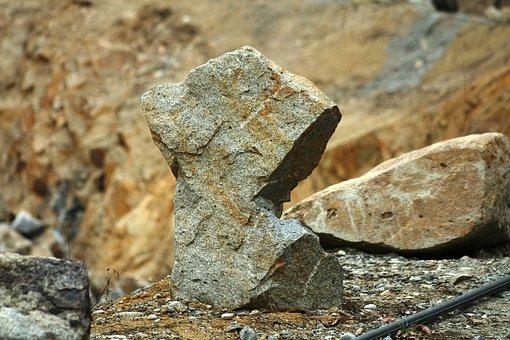 Granite, Quarry, Rock, Pieces Of Stone, Stone, Outdoor