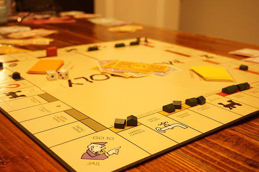 Monopoly, Games, Game, Board Game, Play